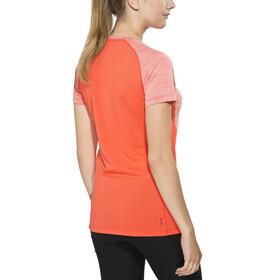 Salewa Pedroc Dry - T-shirt manches courtes Femme - orange/rouge